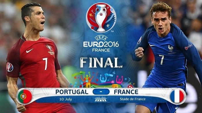 Francia y Portugal lucharán por el título de la Euro 2016