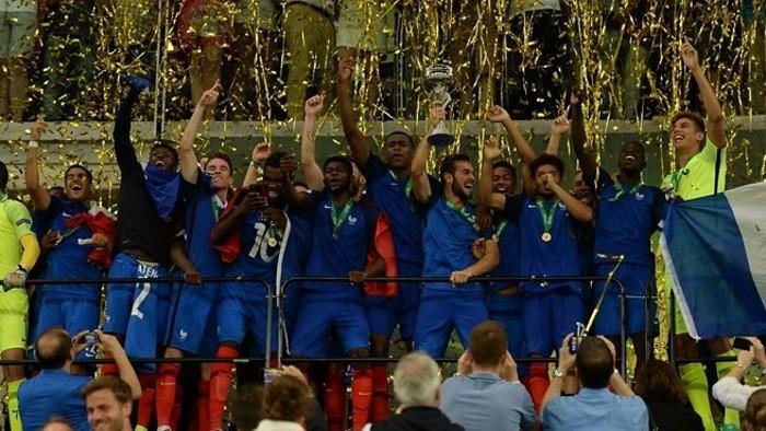 Francia se llevó la victoria en el Europeo sub 19