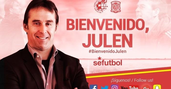 Lopetegui es el nuevo seleccionador español