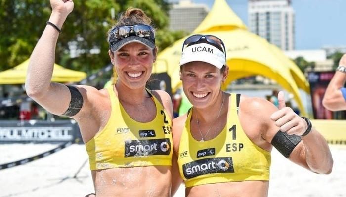 Lili y Elsa repiten como pareja de voley playa en los Juegos Olímpicos