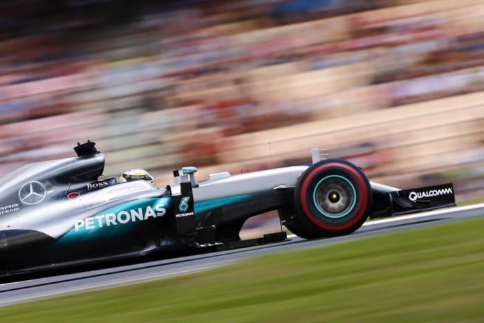 Mercedes en el GP de Alemania