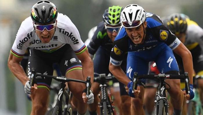 Victoria y liderato para Sagan en la segunda etapa del Tour 2016