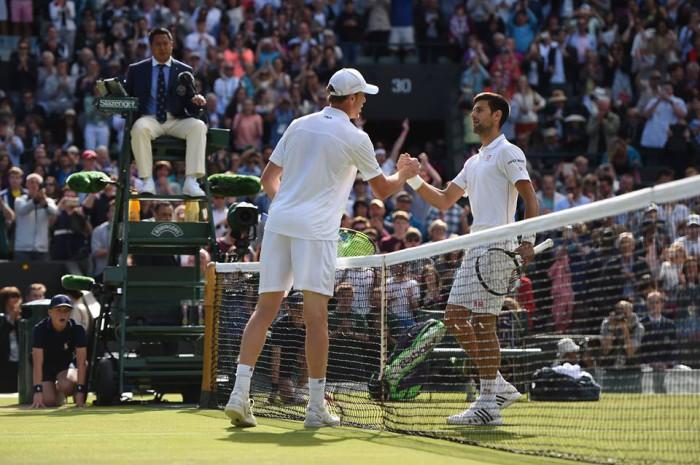 Querrey elimino a Djokovic en Wimbledon