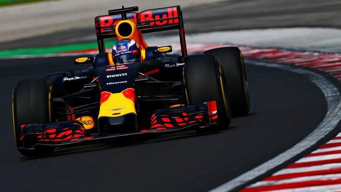 Red Bull en Hungria