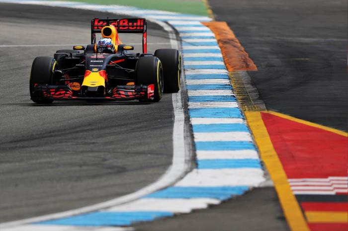 Red Bull en el GP de Alemania