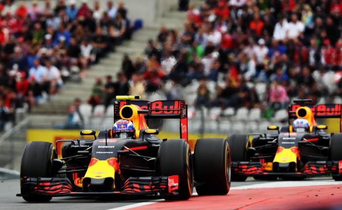 Red Bull en el GP de Austria