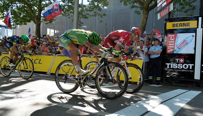 Sagan y Kristoff pelearon por la victoria en Berna