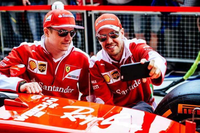 Sebastian Vettel y Kimi Raikkonen continuaran en Ferrari