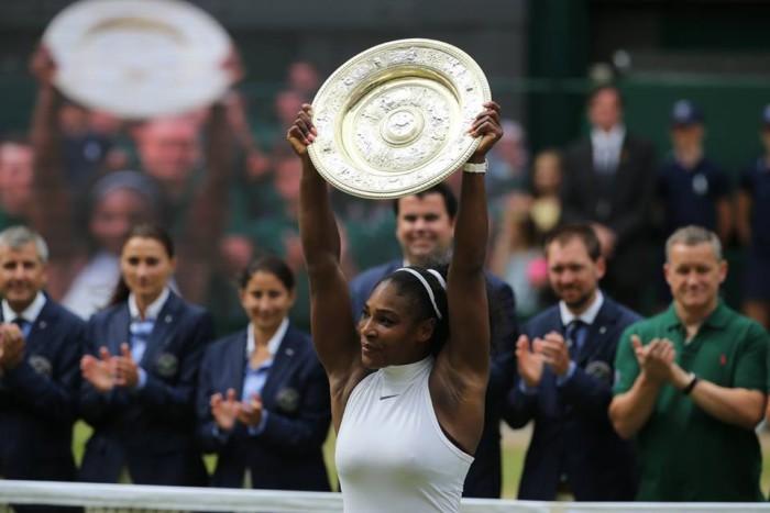 Serena Williams gana Wimbledon 2016