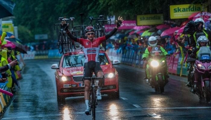 Wellens ganó la general y una etapa del Tour de Polonia 2016