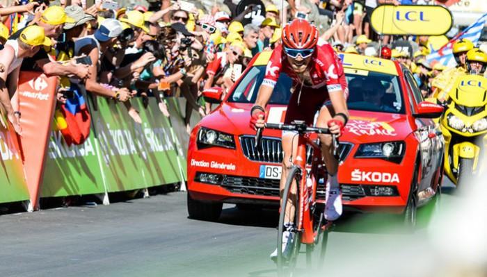 Ilnur Zakarin ganó la etapa 17 del Tour 2016