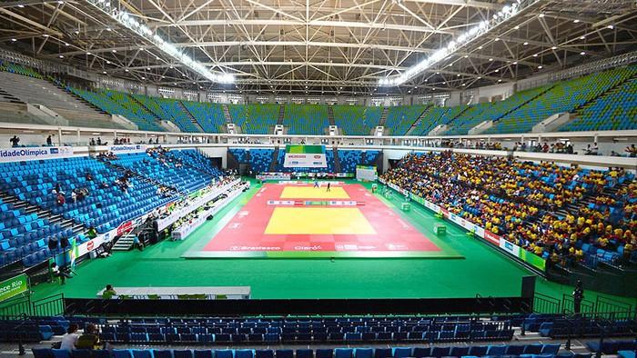 El Arena Carioca acogerá varios deportes durante los Juegos Olímpicos