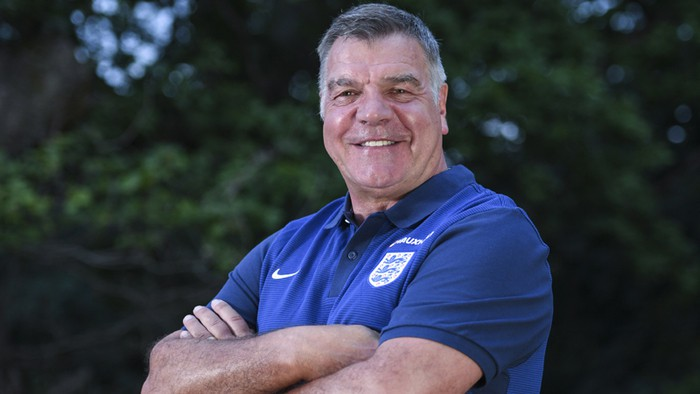 Sam Allardyve es el nuevo seleccionador de Inglaterra