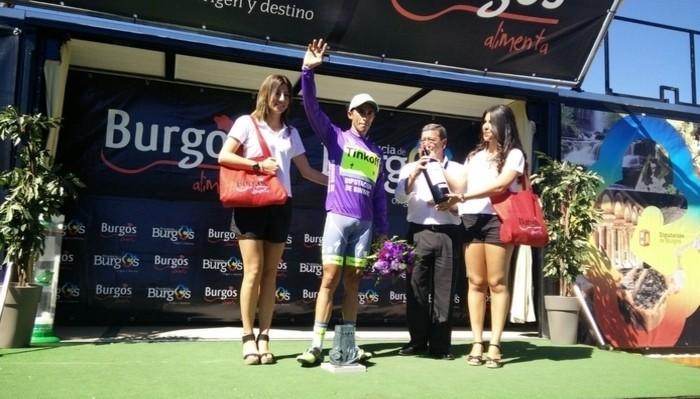 Alberto Contador, ganador de la Vuelta a Burgos 2016