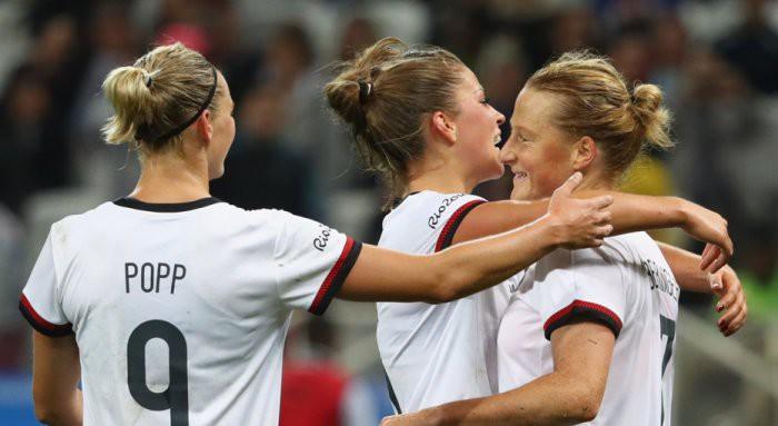 Alemania debutó en Río con goleada sobre Senegal