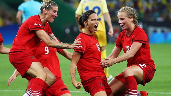 Alemania ganó por primera vez el torneo de fútbol femenino