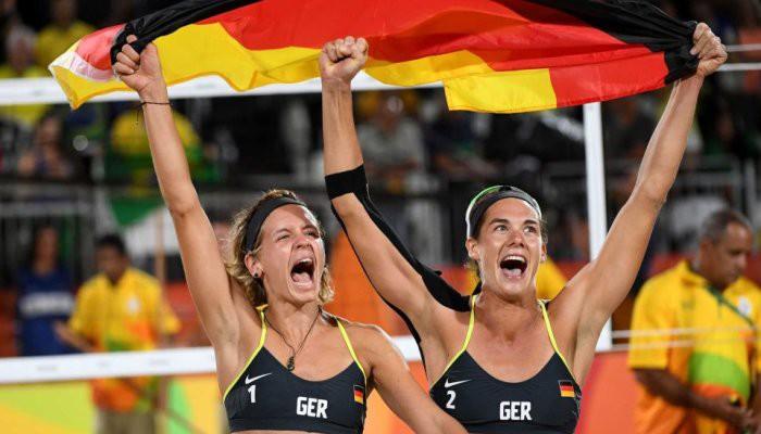 Alemania se llevó el oro en vóley playa femenino