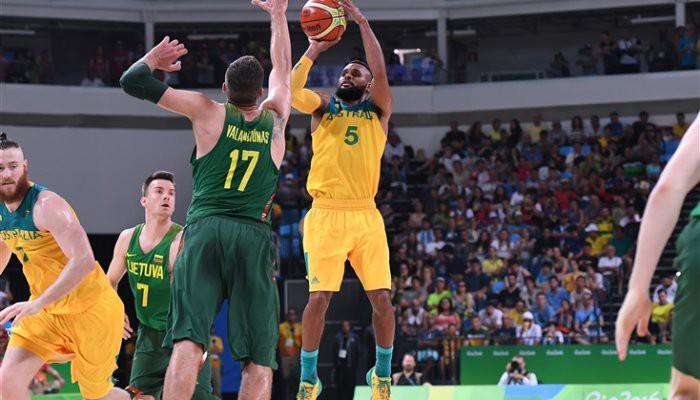 Australia se metió en las semifinales de baloncesto
