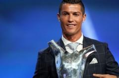 Cristiano Ronaldo gana el premio al mejor jugador de la UEFA 2015-2016