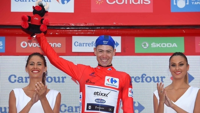 David de la Cruz es el nuevo líder de la Vuelta a España 2016