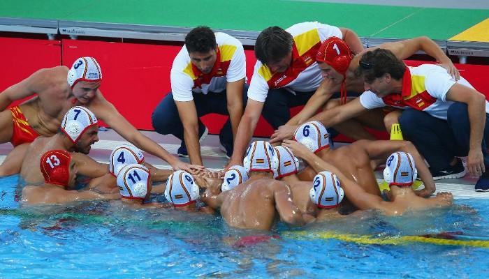 La selección española de waterpolo ha sido la mejor de su grupo