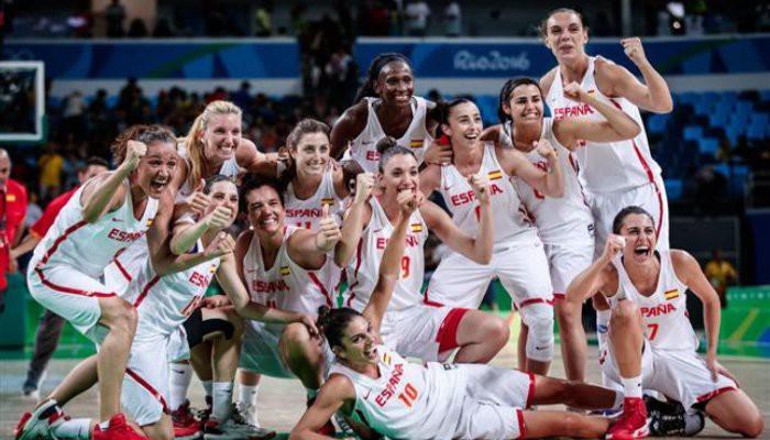El basket femenino español se asegura la primera medalla de su historia