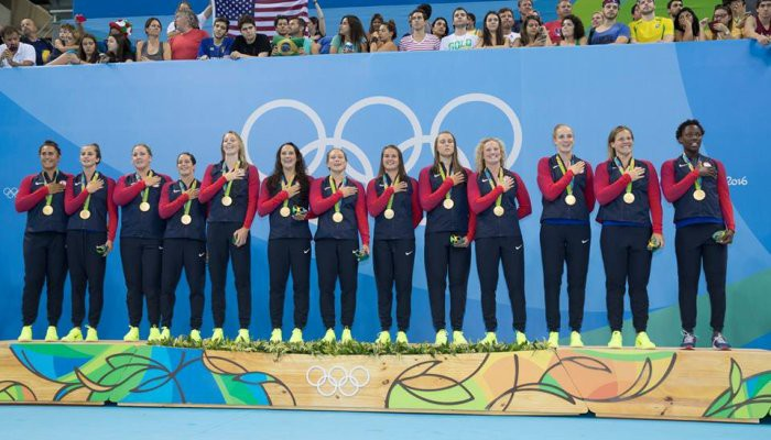 Estados Unidos repite como campeón olímpico de waterpolo