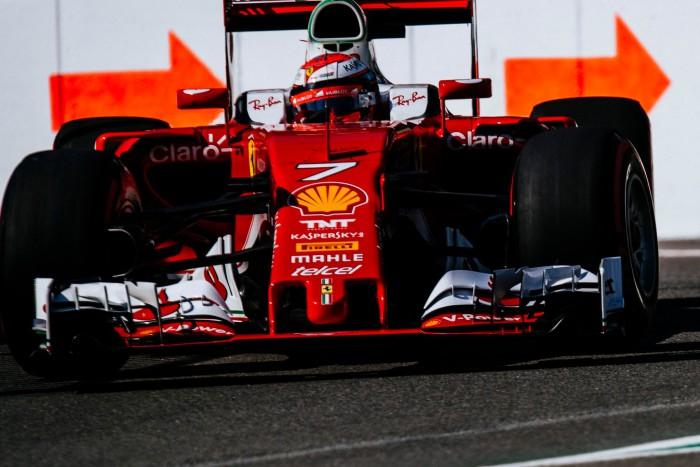Ferrari en Spa