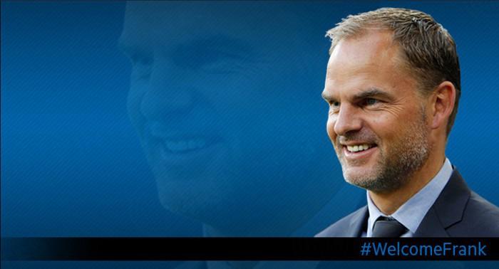 Frank de Boer es el nuevo entrenador del Inter de Milán
