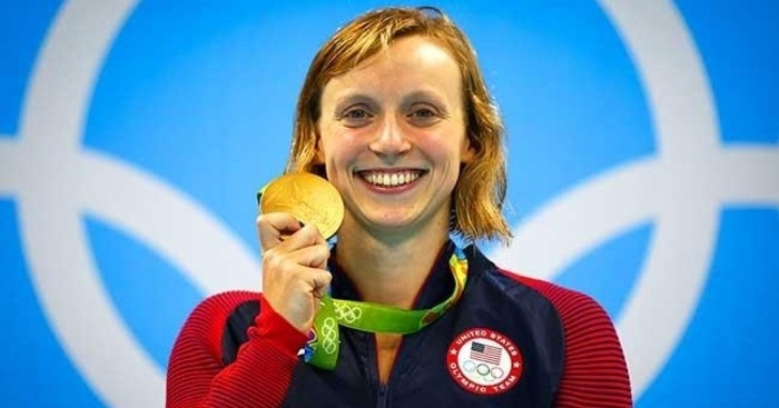 Katie Ledecky se ha colgado cuatro oros en Río 2016