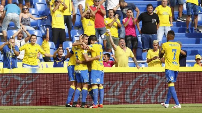 Las Palmas es el líder de Primera División