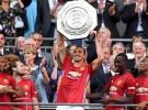 La Community Shield, primer título de Mou y Zlatan en Manchester