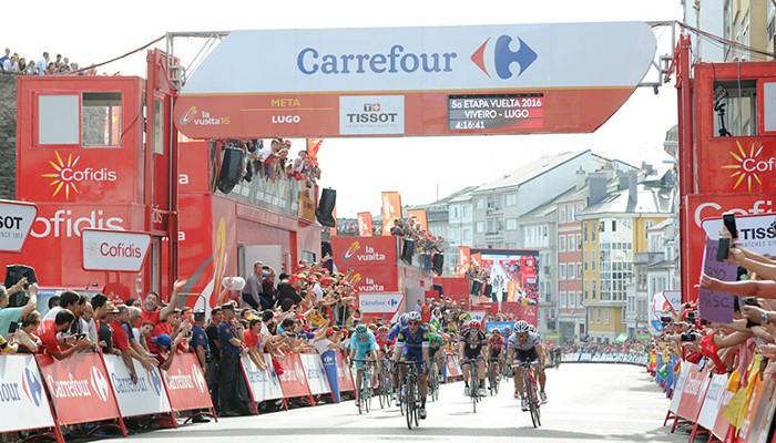 Meersman sumó en Lugo su segundo triunfo en la Vuelta a España 2016