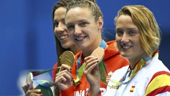 Mireia Belmonte, bronce en los 400 metros estilos