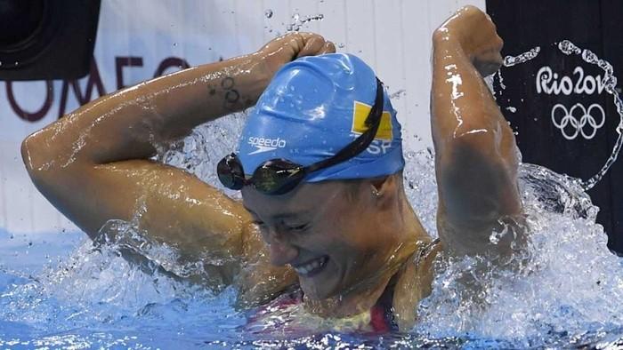 Mireia Belmonte, campeona olímpica de los 200 mariposa