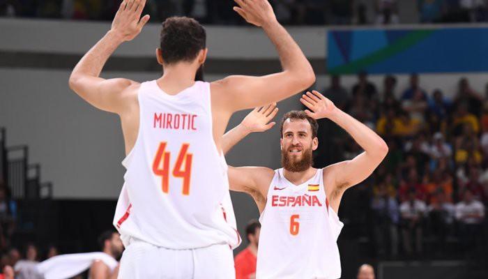 Mirotic lideró a España ante Francia