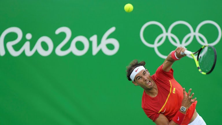 JJOO Río 2016: Rafa Nadal sin problemas, Del Potro da el golpe ante Djokovic