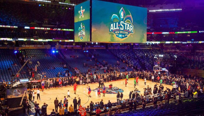 New Orleans volverá  a ser sede de un All Star Weekend