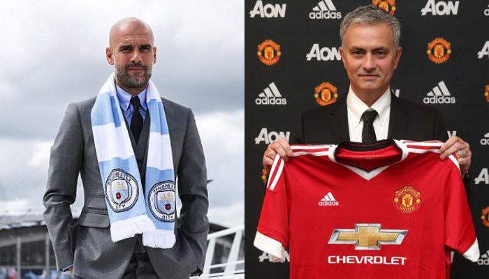 Pep y Mou son ahora rivales en Manchester