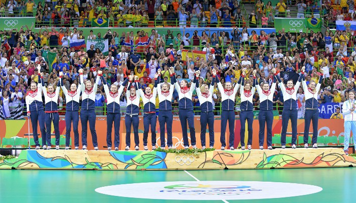 Rusia ganó el oro en balonmano femenino