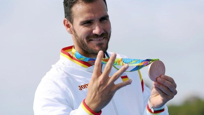 Saúl Craviotto se vendrá de Río con dos medallas