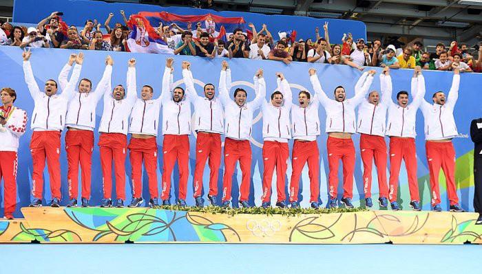 Serbia ganó el oro en waterpolo