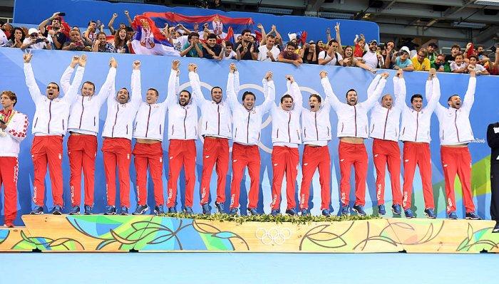 JJOO Río 2016: Serbia y Estados Unidos, campeones en waterpolo