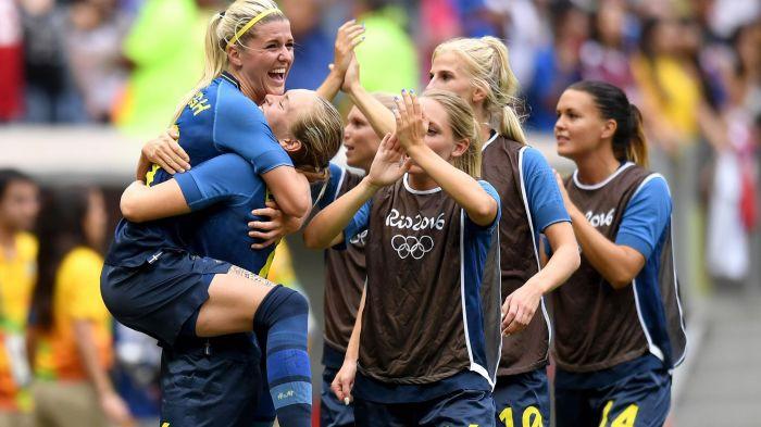 Suecia dio la gran sorpresa al eliminar a Estados Unidos