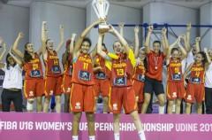 Doblete de oro para las U16 en los Europeos de baloncesto de 2016