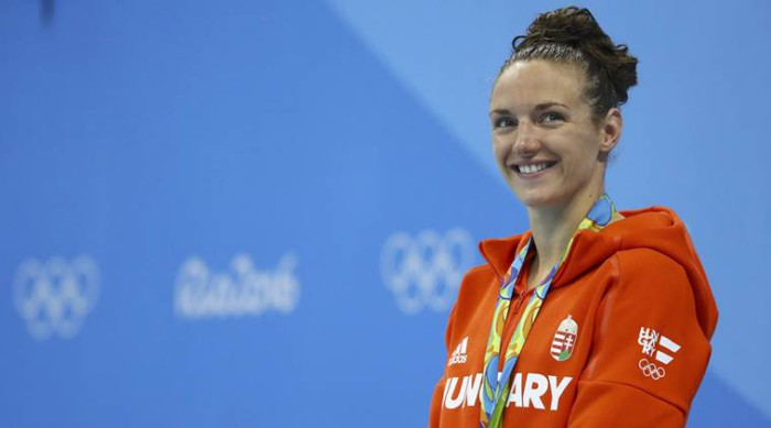 Hosszu se va de Río 2016 con cuatro medallas