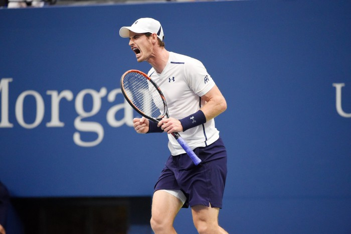 Andy Murray en el US Open