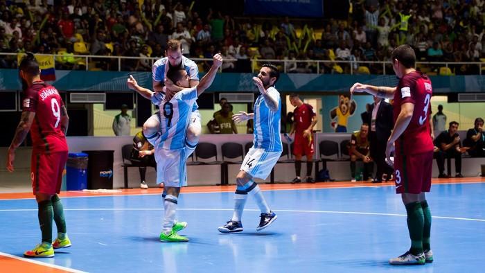 Argentina derrota a Portugal y se medirá en la final a Rusia que se deshizo de Irán