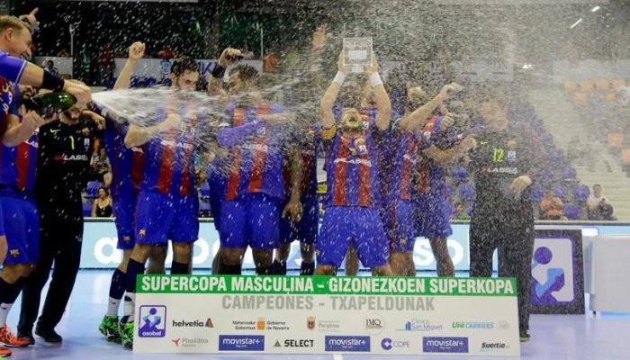El Barça se apuntó la Supercopa de balonmano