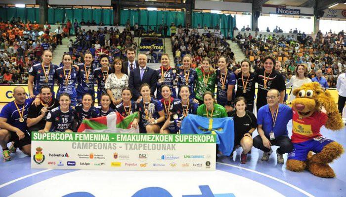Bera Bera ganó por quinto año seguido la Supercopa de balonmano